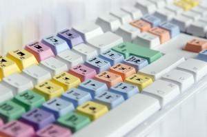 Střihová klávesnice